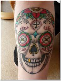 Mexican Sugar Skull Tattoo By Springnando Tattoos Book 65000