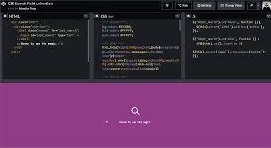 Material Design Search Bar Codepen 20 Creative Search Bar Design Inspirations With Html Css