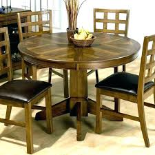 dining table with built in leaf dining tables round dining table erfly leaf set chic drop