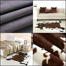 large cowhide rug cow skin hide leather carpet faux animal print large cowhide rug extra large