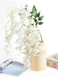 "<b>Цветок</b> искусственный (на ножке) ""Онцидиум белая"" <b>Gloria</b> ..."