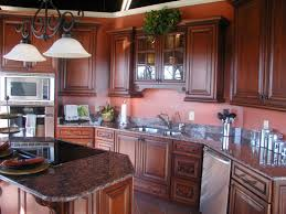 Granite Kitchen And Bath Tucson Brown Mahogany Kitchen Cabinets Mahogany Wood Kitchen