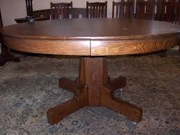 round oak dining table with leaves tables