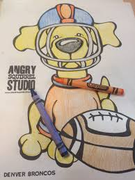 Got Crayons Love Football The Angry