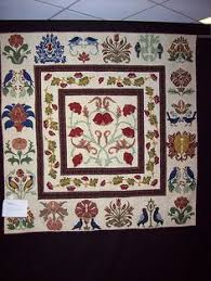 William Morris in Quilting: Quilt Gallery and Patterns.