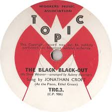 78 RPM - Topic Variety Chorus And Band - Here We Come / The Black Black-Out  - Topic - UK - TRC 3