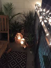 balcony lighting decorating ideas. Decorating:Condo Balcony Decorating Ideas Trellischicago And Scenic Images Decor Tropical Plants Candles Lanterns String Lighting