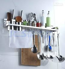 Kitchen Utensil Storage Racks