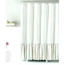 grey ruffle shower curtain ruffle shower curtain extra long linen ruffled light grey full size dark grey ruffle shower curtain
