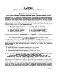 Executive Resume Samples Sample Operations Examples Of Resumes Hr