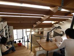 japanese office design. Japanese Home: Home Office Design New Interesting Stairs House In Japan By Y M