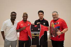 "Saddick Adams على تويتر: ""Former Chelsea and Newcastle player Christian Atsu  joins Saudi Arabia club Al Raed. The Ghana International leaves European  football for the first time in his career. https://t.co/Mu4LWeLNAO"" /"