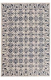 baku indigo hand tufted rug 180 x 270cm