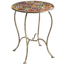 coffee table pier one mosaic accent 1 imports canada amelia round lincoln