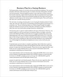 Best Business Plan Templates Startup Business Plan Templates 15