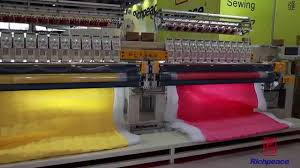 Richpeace Computerized Quilting & Embroidery Machine - Double Roll ... & Richpeace Computerized Quilting & Embroidery Machine - Double Roll - YouTube Adamdwight.com