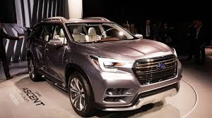 2018 subaru ascent suv. fine subaru subaru going to new heights with the ascent suv concept throughout 2018 subaru ascent suv