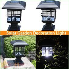 lighting 4x4 vinyl post solar lights solar powered post lights solar post cap lamp