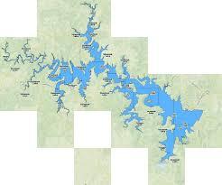 Skiatook Lake Fishing Map Us_ok_01100124 Nautical