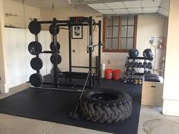 the fully equipped rogue garage gym is super nice go fitness great photo ideas h64
