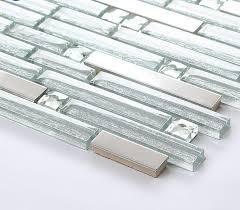 crystal mosaic glass tile diamond tiles b903