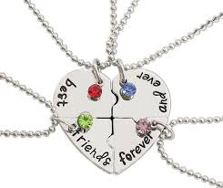 product images gallery best friends forever and ever necklace