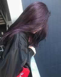 紫の髪色ってどんな種類があるのブリーチなしでできる暗め紫の髪色