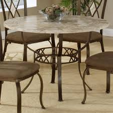 granite top dining table set. Dining Tables, Amusing Round Stone Table Granite Top Set Iron And N