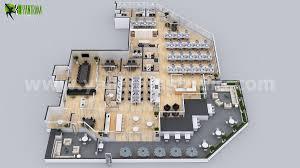 Office Design Plan 3d Office Space Interactive 3d Virtual Floor Plan Design On Behance