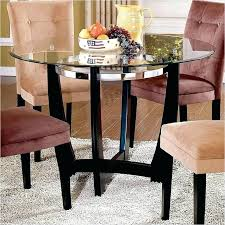 48 inch table inch round kitchen table silver company matinee inch round glass dining table in