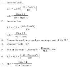 Profit Loss Formula All The Formula From Profit And Loss Brainly In