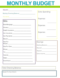 Budget Planners Free Budget Planners Template Dalefinance Com