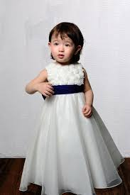 Designer Flower Girl Dresses Uk Elegant Appliques Two Double Straps Pleated With Bowknot A