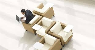 Online Office Design Cool Citi Reception And Lobby Chairs With Tablet Arm By Global Office