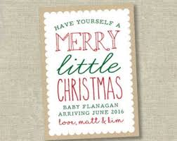 Christmas Card Baby Announcement Magdalene Project Org
