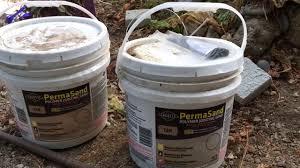 Using Sakrete Permasand Polymer Jointing Sand To Set