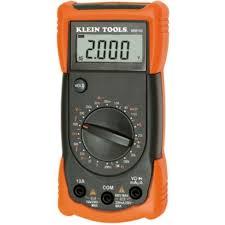 klein tools manual ranging multimeter