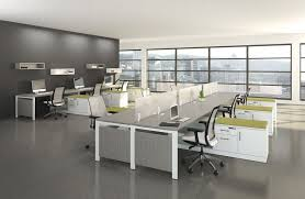 office interior ideas. Delighful Ideas Horrible Modern Office Interior Ideas Using Grey Marble Ceramic Flooring  Plus Cubical Table Stylish Decorations To Make  G