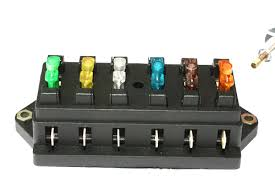 blade fuse box shown here our new blow fuses they glow when they blow