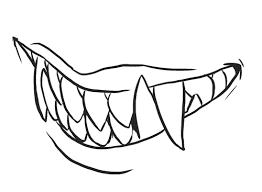 sharp teeth. image sharp teeth l