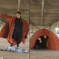Tent Jacket This Tent Is Also A Jacketcheck Adiff Out On Kickstarter Watch