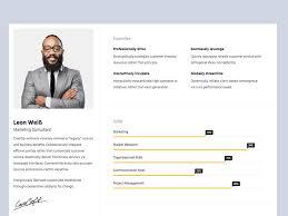 Resume Portfolio Best Resumex Free Responsive HTML28 Bootstrap Resume Portfolio Template