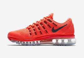 nike running shoes 2016 black. air max 2016 nike women running shoes orange black