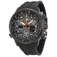 citizen jy8035 04e wrist watch for men citizen navihawk a t black dial black rubber mens watch jy8035 04e