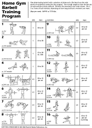 free printable dumbbell workout chart