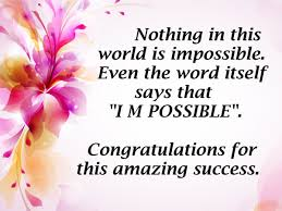 Beautiful Congratulations Quotes