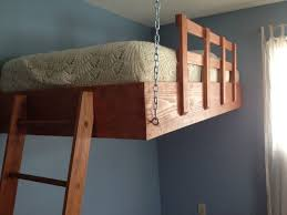space optimising suspended loft bed 7
