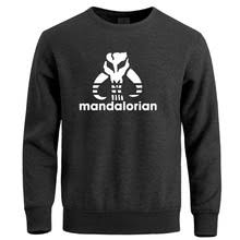 Мандалорский символ <b>Толстовка мужская Толстовка</b> уличная ...