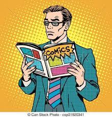 man reads ic book csp31920341