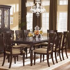 Dining Room : An Elegant 9 Piece Dining Room Set With Beautiful ...